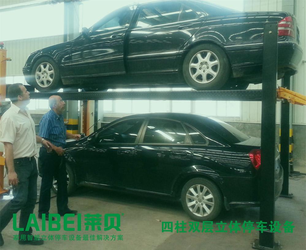 莱贝简易四柱式停车设备保养说明